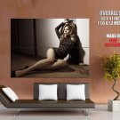 Scarlett Johansson Actress Fashion Model Leopard Blonde Giant Huge Print Poster
