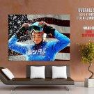 Julia Mancuso US World Cup Alpine Ski Racer Skiing Sport Giant Huge Print Poster