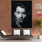 Johnny Depp Hollywood Star Actor Cute Cigar Giant Huge Print Poster