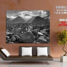Ansel Adams Clearing Storm BW Photo Landscape Stones Giant Huge Print Poster