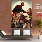 Spiderman Dared Evil Eagles Spider Web Skyscraper Sunset Giant Huge Print Poster