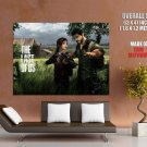 The Last Of Us Suvival Action Military Computer Game Giant Huge Print Poster