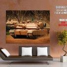 Military Tanks Guns Flags Giant Huge Print Poster