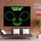 Deadmau5 Album 4x4 12 Painting Music Art Giant Huge Print Poster