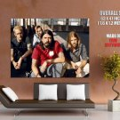 Foo Fighters Rock Band Music Giant Huge Print Poster