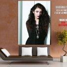 Lorde Beauty Pop Singer Music Giant Huge Print Poster