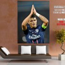 Thiago Silva Paris Saint Germain Brazil Football Giant Huge Print Poster