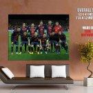 FC Barcelona Club Team Squad Catalonia Spain Barca Giant Huge Print Poster