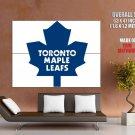 Toronto Maple Leafs Logo Hockey Sport Art Giant Huge Print Poster