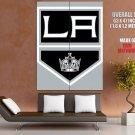 Los Angeles Kings Logo Hockey Sport Art Giant Huge Print Poster