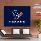 Houston Texans Football Logo Hockey Sport Art Giant Huge Print Poster