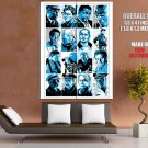 The Wire Cast Characters TV Series Art Giant Huge Print Poster