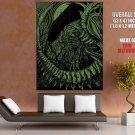 Alien Movie Green Black Artwork Giger Aliens Art Giant Huge Print Poster