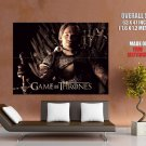 Jaime Lannister Iron Throne Game Of Thrones Giant Huge Print Poster
