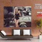 Leonie Hagmeyer Reyinger Volkswagen Corrado Giant Huge Print Poster