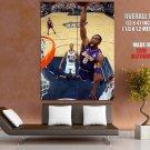 Black Mamba Slam Dunk Los Angeles Lakers Sport Giant Huge Print Poster