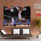 Blake Griffin Alley Oop Dunk Clippers Basketball Giant Huge Print Poster