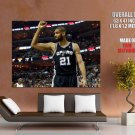 Tim Duncan Legend San Antonio Spurs Basketball Giant Huge Print Poster