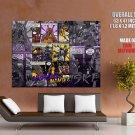 Black Mamba Art Los Angeles Lakers Basketball Giant Huge Print Poster