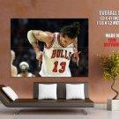 Joakim Noah Chicago Bulls Basketball Sport Giant Huge Print Poster
