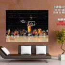Black Mamba Game Winner Buzzer Beater Lakers Giant Huge Print Poster