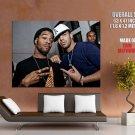 Kid Cudi Drake Hip Hop Rap Music Singer Rare Giant Huge Print Poster