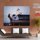 Alicia Keys Smile R B Singer Rare Giant Huge Print Poster