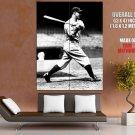 Lou Gehrig New York Yankees Vintage BW Baseball Giant Huge Print Poster