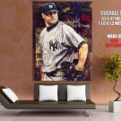 Roger Clemens New York Yankees Signature Painting Giant Huge Print Poster