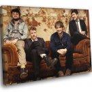 Mumford Sons Folk Rock Band Music 50x40 Framed Canvas Print