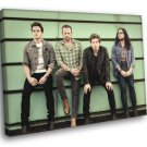 Kings Of Leon Rock Band Music 50x40 Framed Canvas Print