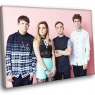 Echosmith Indie Pop Band Music 50x40 Framed Canvas Print