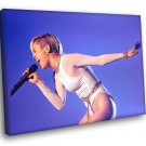 Miley Cyrus Hot Pop Country Singer Music 50x40 Framed Canvas Print