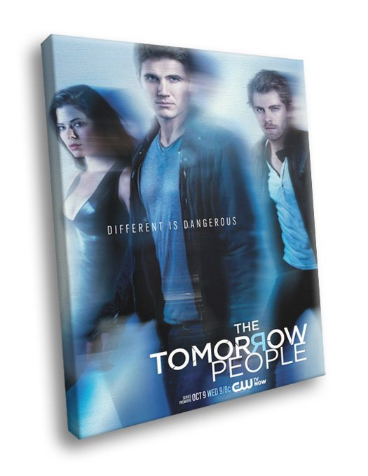 The Tomorrow People TV Series 50x40 Framed Canvas Print