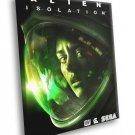 Alien Isolation Ripley Video Game Art 50x40 Framed Canvas Print