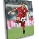 Philipp Lahm Bayern Munich Germany Football 50x40 Framed Canvas Print