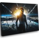 Ender S Game 2013 Movie Amazing 50x40 Framed Canvas Print