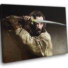 47 Ronin Movie 2013 Keanu Reeves Katana Sword 50x40 Framed Canvas Print