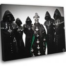 Ghost Papa Emeritus Nameless Ghouls Hard Rock Band 50x40 Framed Canvas Print