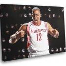Dwight Howard Houston Rockets Basketball Sport 50x40 Framed Canvas Print