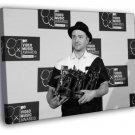 Justin Timberlake VMA Pop Music Singer BW Rare 50x40 Framed Canvas Print