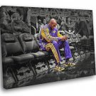Black Mamba Comeback Return Los Angeles Lakers 50x40 Framed Canvas Print