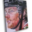Duncan Keith Chicago Blackhawks Painting Art Hockey 50x40 Framed Canvas Print