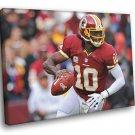 Robert Griffin III Washington Redskins Football 50x40 Framed Canvas Print