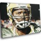 Reggie White Green Bay Packers Football Sport 50x40 Framed Canvas Print
