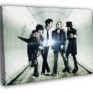 Motley Crue Nikki Sixx Tommy Lee Metal Band 50x40 Framed Canvas Print