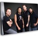 Metallica Ulrich Hammett Hetfield Trujillo 50x40 Framed Canvas Print