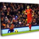 Luis Suarez Free Kick Epic Soccer Football 50x40 Framed Canvas Print