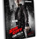 Sin City A Dame To Kill For Dwight Josh Brolin 50x40 Framed Canvas Print