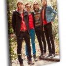 Phoenix Alternative Rock Band Music 50x40 Framed Canvas Print